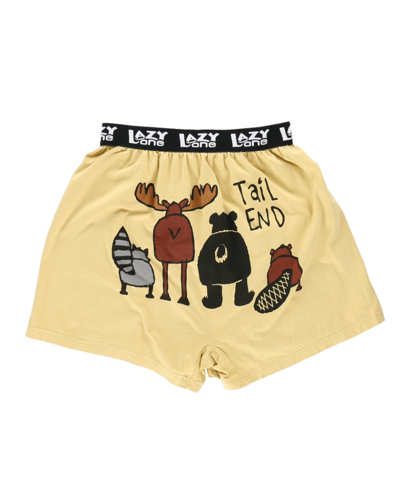 Tail End-Critter - Men's Boxer Shorts - Lazy One®